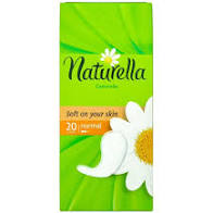 NATURELLA LINER NORMAL SINGLE 20CT