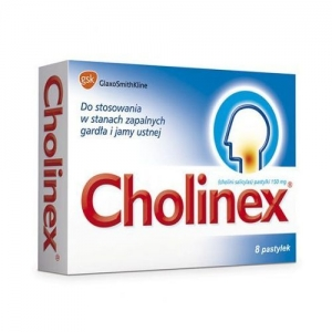 CHOLINEX Z/CUKREM 8 PAST.