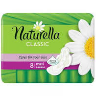 NATURELLA PAD TH/CLASS SSINGLE 8CT