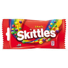 CUKIERKI SKITTLES 38g FRUITS