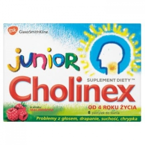 CHOLINEX JUNIOR 8 TABLETEK