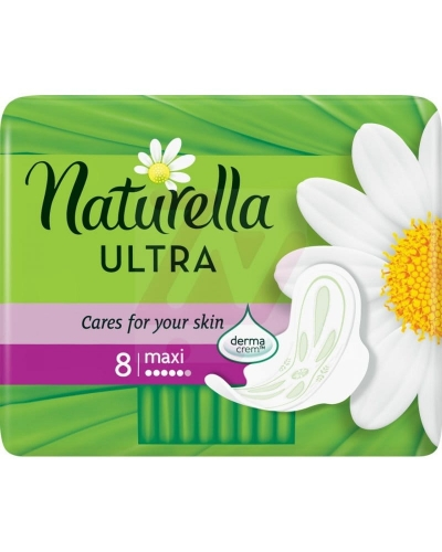 NATURELLA PAD ULTRA SSINGLE 8CT