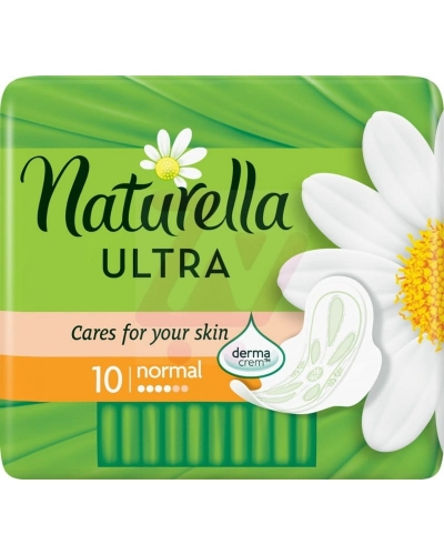 NATURELLA PAD ULT NOR SINGLE 10CT