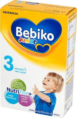 MLEKO BEBIKO 350g JUNIOR 3