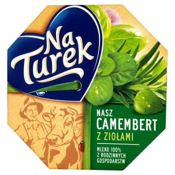 CAMEMBERT NaTurek 120g ZIOLA